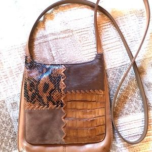 Fossil Vintage Leather Rare Crossbody Bag